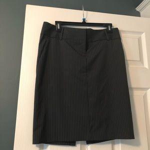 Express pin-striped pencil skirt. Never worn!